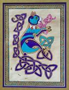 Corky's Journey Print by Beth Clark-McDonal
