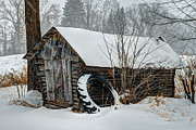 Corn Crib Photo Posters - Corn Crib Poster by Paul Freidlund