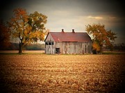 Michael L Kimble - Corn Field Barn