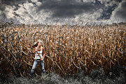 Book Cover Art - Corn Field Horror by Jt PhotoDesign