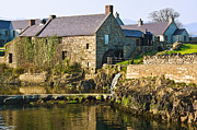 Jane Mcilroy Metal Prints - Corn Mill Annalong Northern Ireland Metal Print by Jane McIlroy
