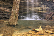 Heber Springs Prints - Cornelius Falls Basin - Heber Springs Arkansas Print by Jason Politte