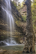Heber Springs Prints - Cornelius Falls - Heber Springs Arkansas Print by Jason Politte