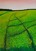 Cornfield Paintings - Cornfield by Sven Fischer