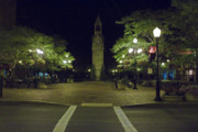 Finger Lakes Photo Originals - Corning Clock Tower by Tom Doud