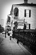 Daily French Quarter Art Prints - Cornstalk Fence Hotel Print by Todd Hartzo