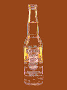 Beer Bottle Posters - Corona Beer 20130405v2 Poster by Wingsdomain Art and Photography