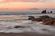 Corona Framed Prints - Corona Del Mar Sunrise Framed Print by Eddie Yerkish