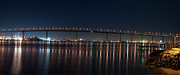 Coronado Bridge San Diego Print by Gandz Photography