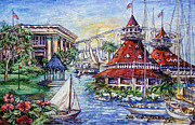 Famous Hotel Paintings - Coronado Heritage by Sue Tushingham McNary