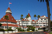 Wooden Building Painting Framed Prints - Coronado Hotel Framed Print by Danny Smythe