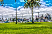Landscape Photography Of The Year Framed Prints - Coronado Marina Framed Print by Keith Ducker