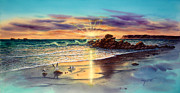 Coronado Metal Prints - Coronado Sunset Metal Print by John YATO
