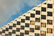 Parallel Lines Prints - Corporate building windows Print by Gaspar Avila