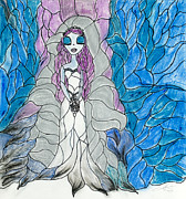 Disney Pastels Posters - Corpse Bride  Poster by Katy  Scott