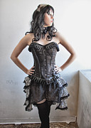 Steampunk Photos - Corset I by David April