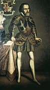 Colonial Man Metal Prints - CortÉs, Hernán 1485-1547. Painting Metal Print by Everett