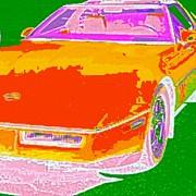 Corvette Dreams Print by James Eye