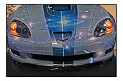 Out Of This World Framed Prints - Corvette is Out of This World Framed Print by Gallery Three