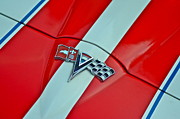 Car Insignia Framed Prints - Corvette Framed Print by Robert Harmon