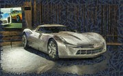 Robin Huggins - Corvette Stingray Concept