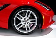 Rachel Cohen Photos - Corvette Stingray Wheel by Rachel Cohen