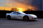 Jk Images - Corvette Sunset