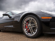 American Auto Racing Driver Prints - Corvette Z06 Print by Gill Billington