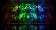 Cosmic Alien Vixens Pride Print by Shawn Dall