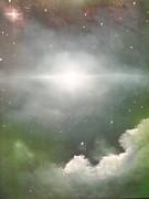 Cosmic Blast Print by Ricky Haug
