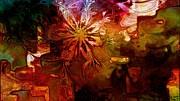 Cosmic Bloom Print by Amanda Moore