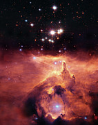 Hubble Photos - Cosmic Cave by The  Vault