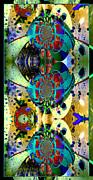 Cosmic Cuckoo Clock Print by Robert Kernodle