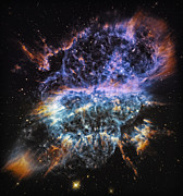 Outer Space Photos - Cosmic Infinity 2 by The  Vault - Jennifer Rondinelli Reilly