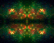 Abstract Constellations Prints - Cosmic Kaleidoscope 3 Print by The  Vault - Jennifer Rondinelli Reilly