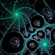 Cosmic Web Print by Anastasiya Malakhova