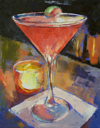 Cocktails Paintings - Cosmopolitan by Michael Creese