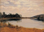 Mondjulygp1 Art - Cosola Demetrio, The Po River Near by Everett