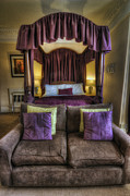 Cushions Art - Cosy Bedroom by Ian Mitchell