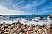 Cornwall Prints - Cot Valley Porth Nanven 2 Print by Chris Thaxter
