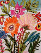 Karen Fields - Cottage Flowers