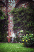 Garden Photo Metal Prints - Cottage Garden Metal Print by Joana Kruse