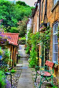 Dave Woodbridge Metal Prints - Cottage Row Metal Print by Dave Woodbridge