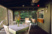 Charming Cottage Photos - Cottage Screened Porch II by Harold E McCray
