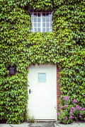 Overgrown Metal Prints - Cottage With Ivy Metal Print by Joana Kruse