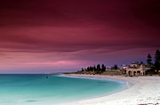 Vibrant Tapestries Textiles - Cottesloe Beach by Leah Kennedy