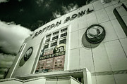 Superbowl Prints - Cotton Bowl Print by Joan Carroll