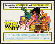 Movies Digital Art Framed Prints - Cotton Comes To Harlem Poster Framed Print by Sanely Great