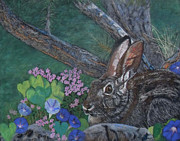 Morning Pastels - Cotton Tail Spring by Mary-Lela Gilbert