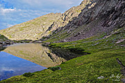 Back Country Prints - Cottonwood Lake Print by Aaron Spong